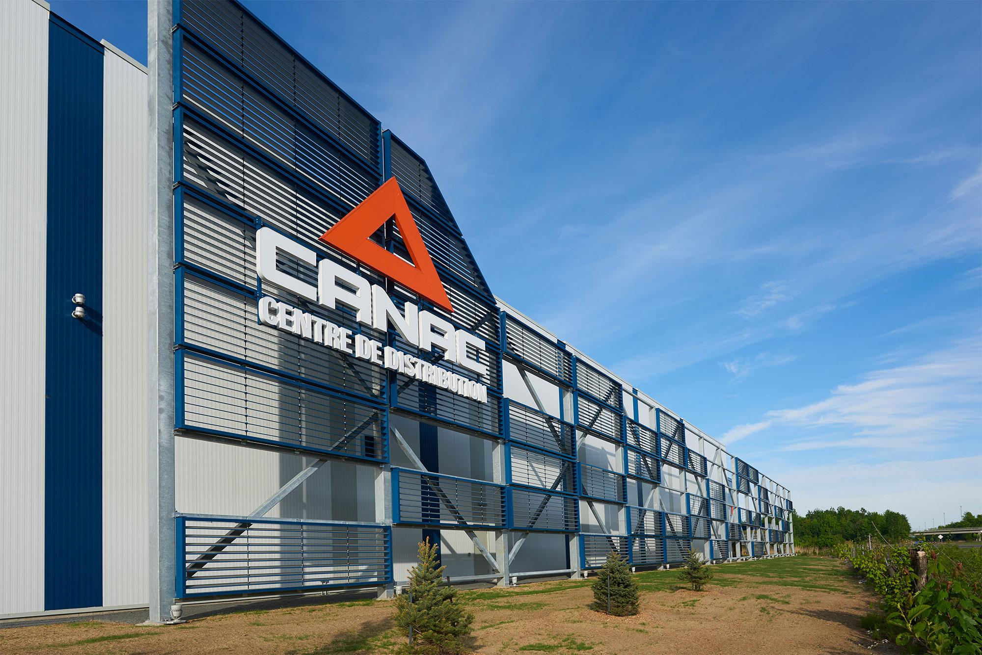 Image du projet - Centre de distribution