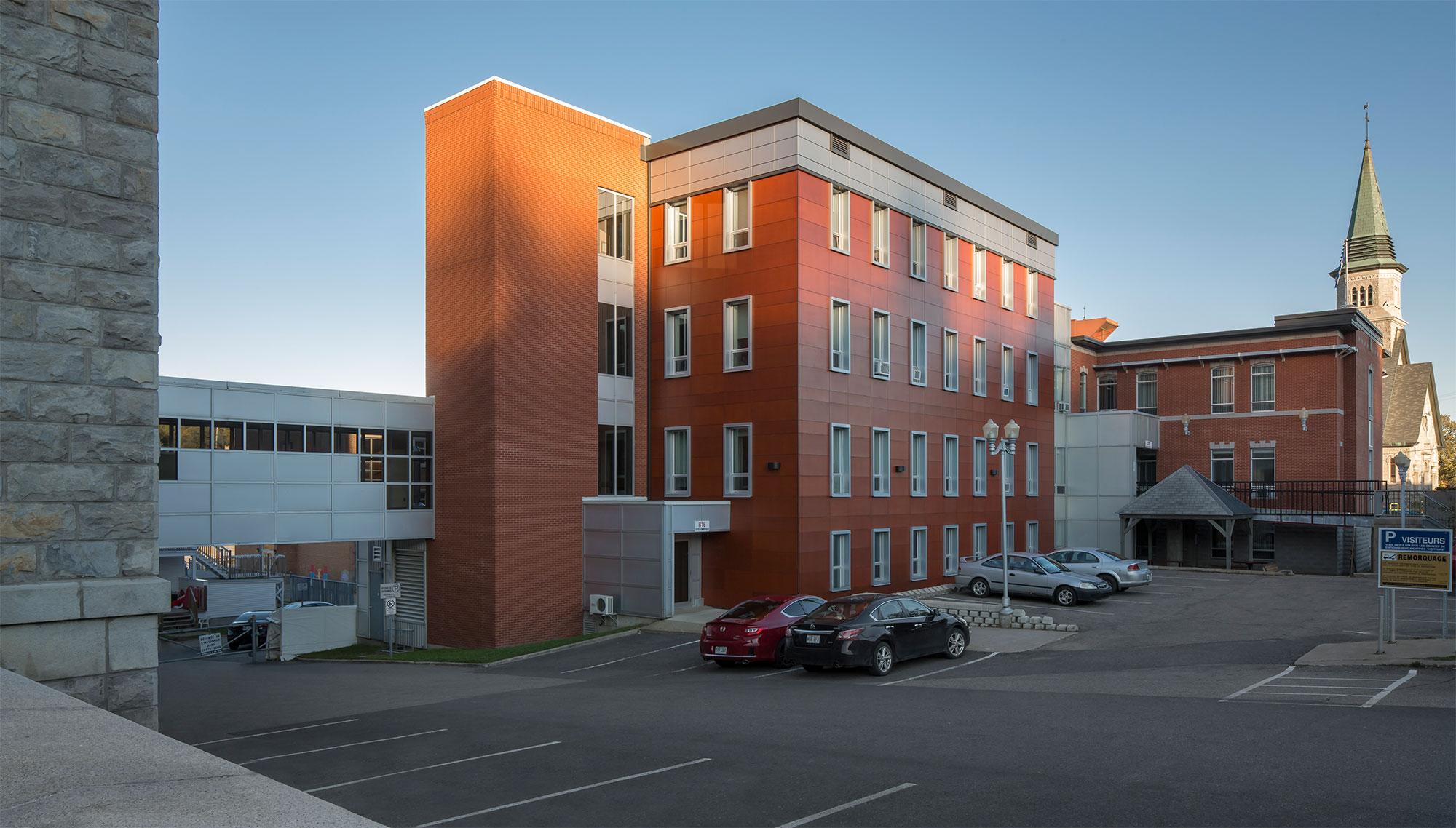 Image du projet - Hôpital de la Malbaie